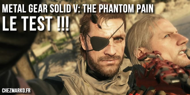 Test de Metal Gear Solid V