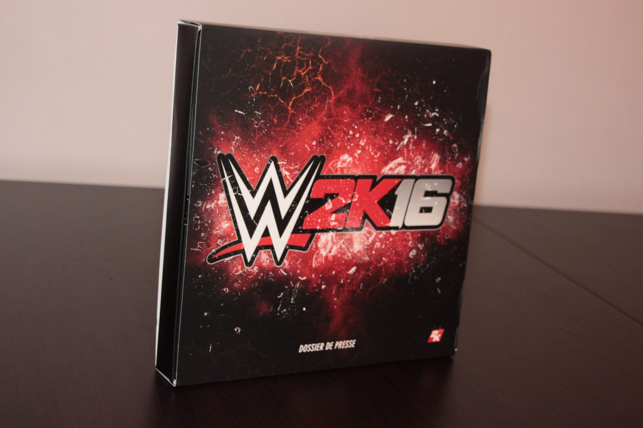 kit press WWE 2K16