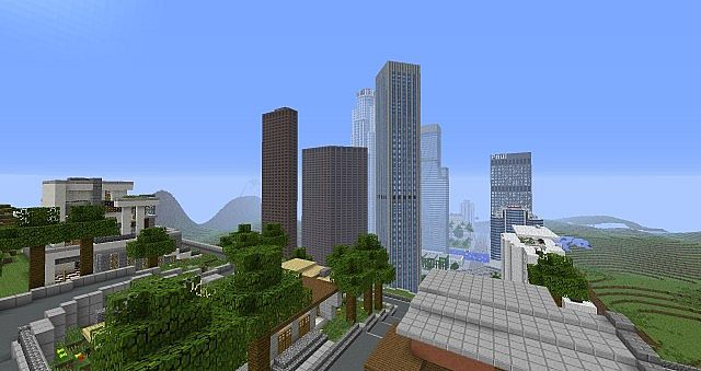 Reproduction de los santos dans Minecraft