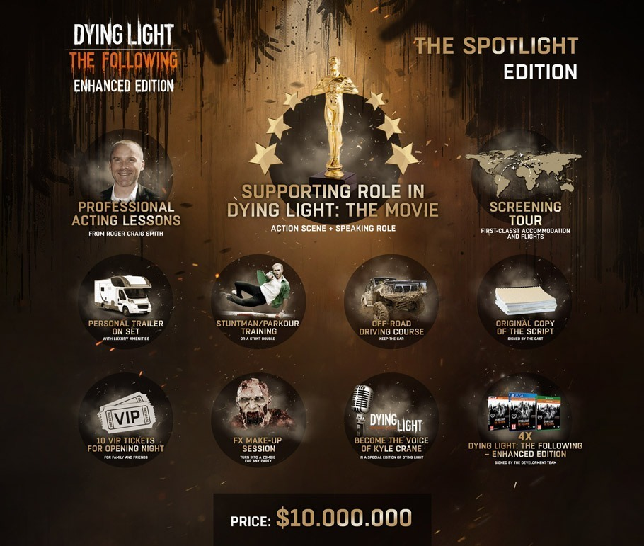 Spotlight Edition de Dying Light : The Following