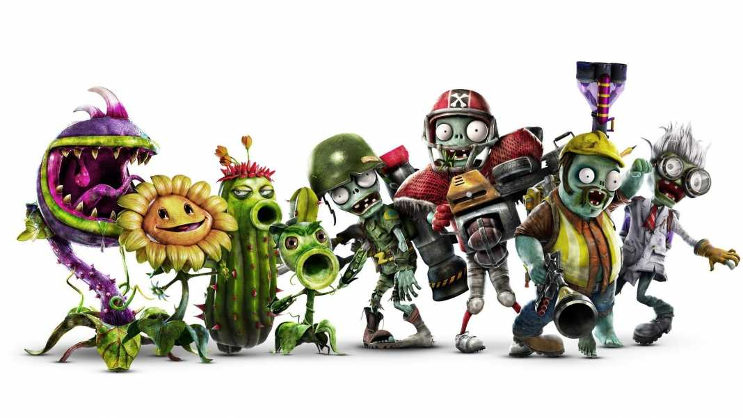 test de plants vs zombies garden warfare 2