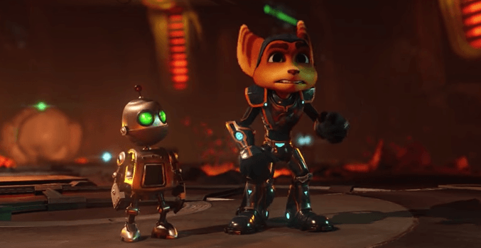 Test de ratchet et clank