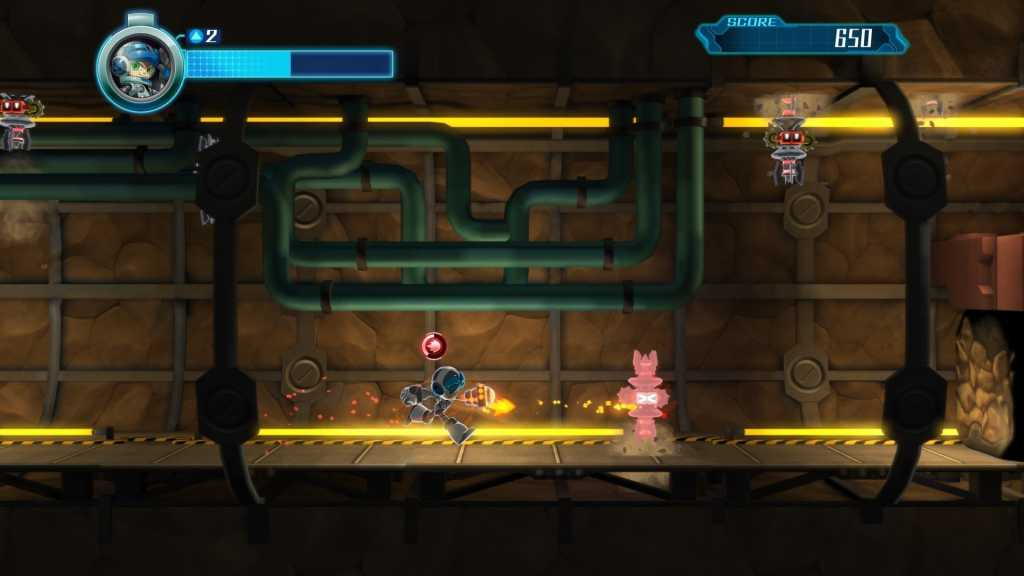Test de Mighty No. 9 sur PS4