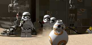 Test de lego star wars sur ps4