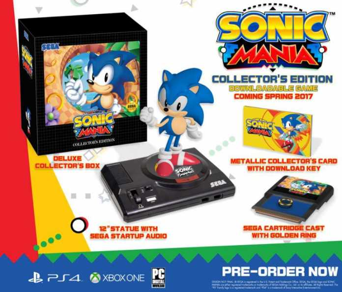 edition collector Sonic Mania
