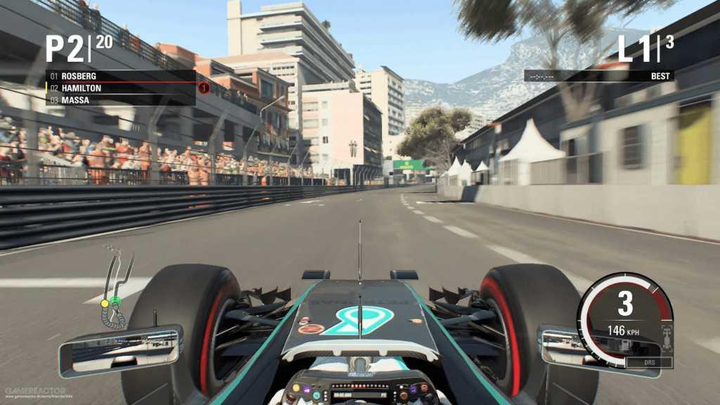test de F1 2016 sur PS4