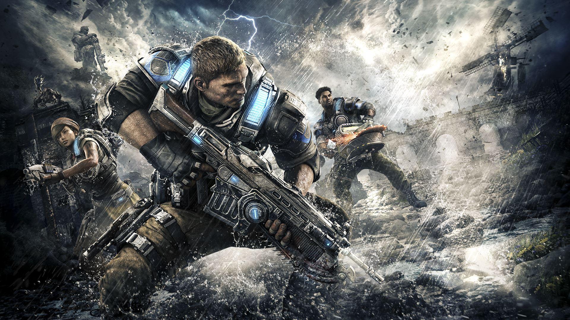 trailer de lancement gears of War 4