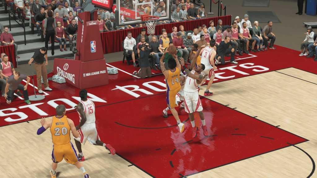 test de NBA 2K17