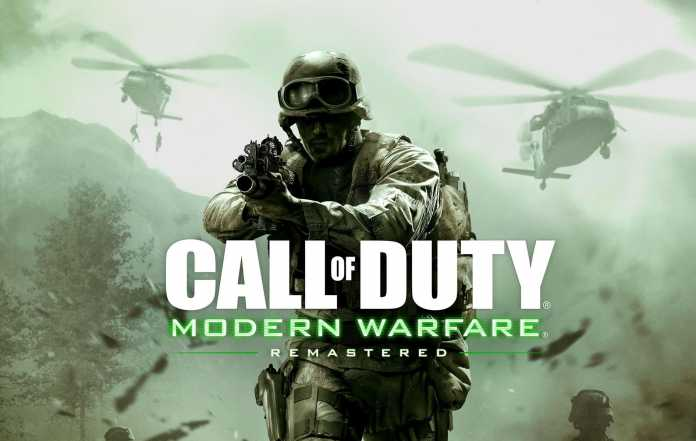 test de Modern warfare remastered sur PS4