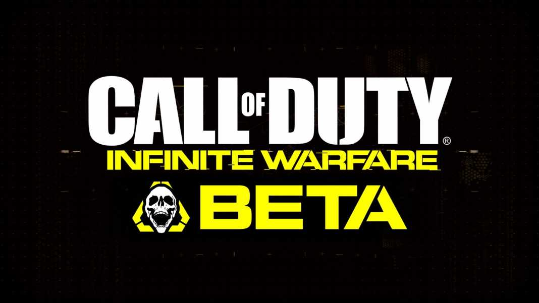 beta multijoueur call of duty infinite warfare