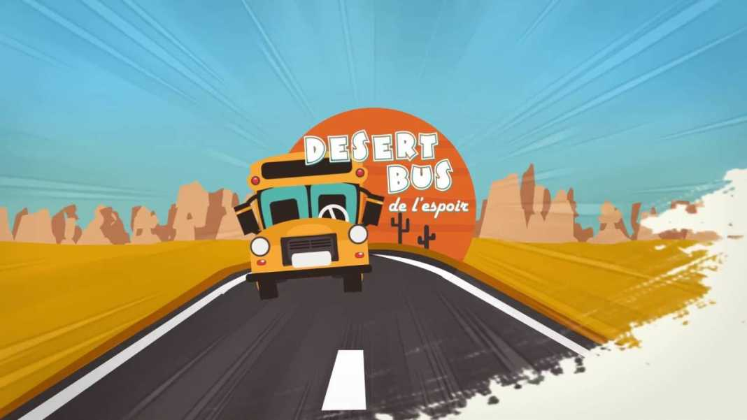 désert bus de l'espoir 2016