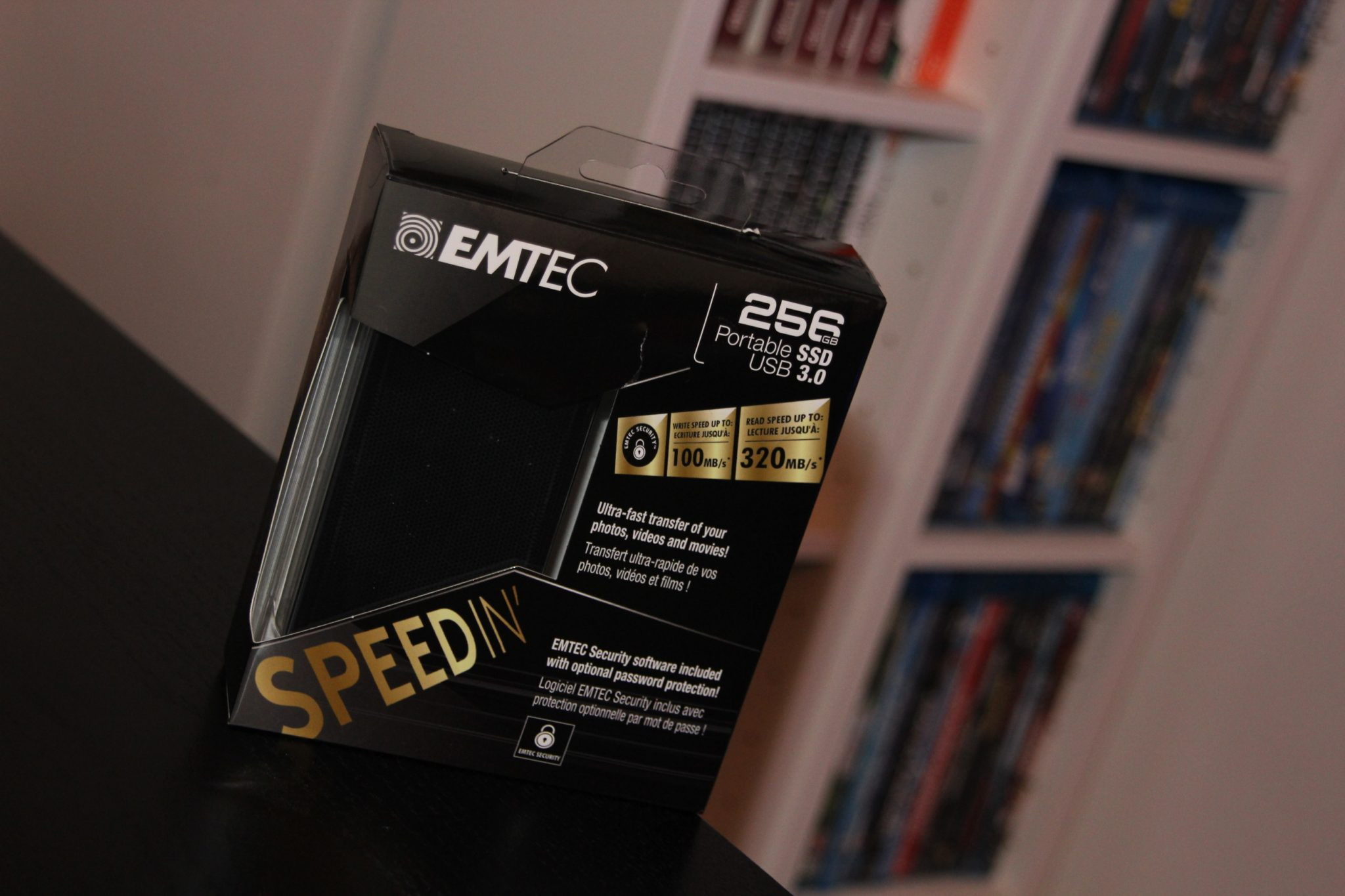 SpeedIn SSD X600 Emtec