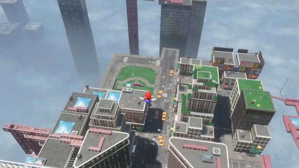 Super Mario Odyssey Long Jump New Donk City