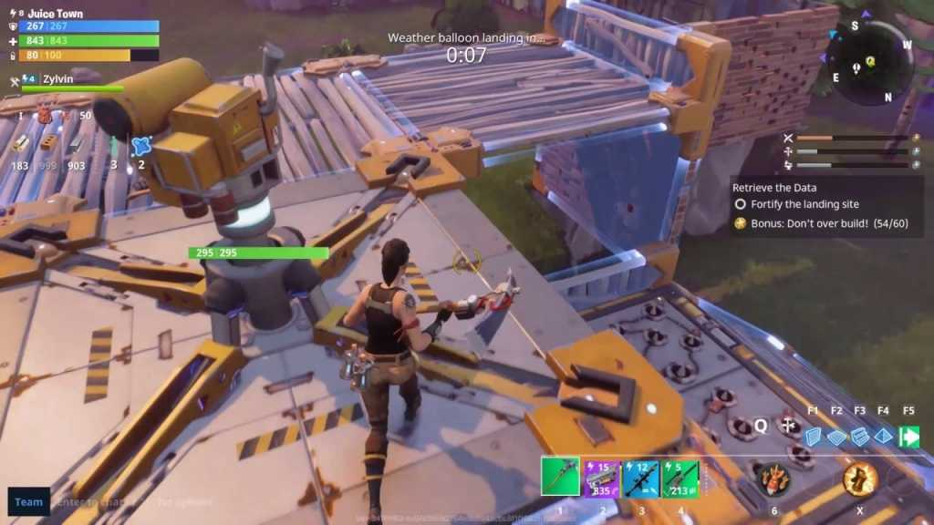 test de fortnite