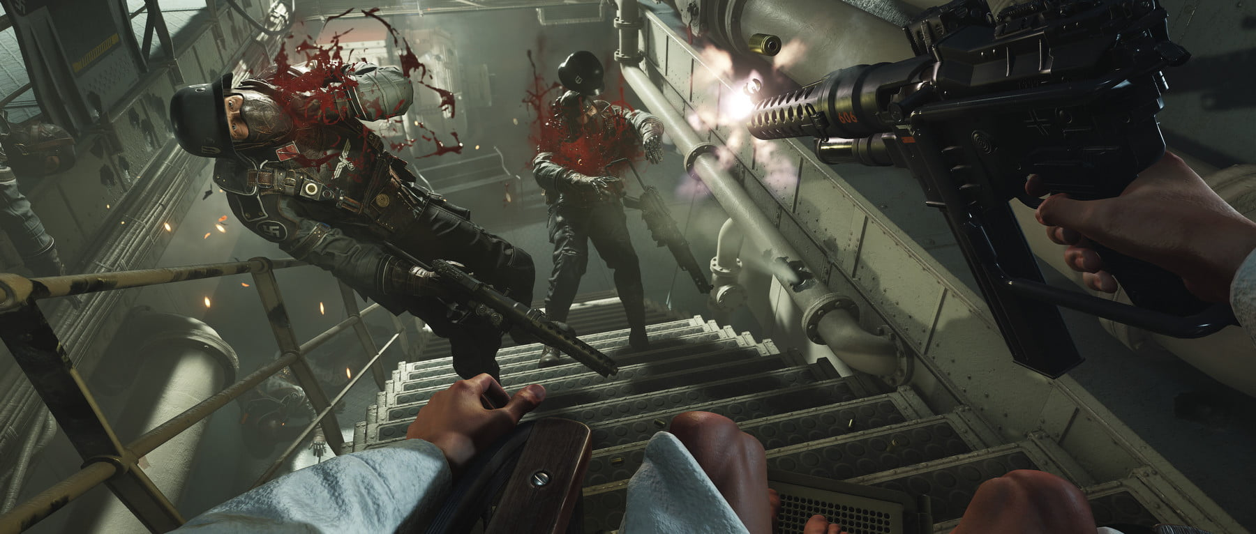 calendrier jeu vidéo octobre Wolfenstein II The New Colossus
