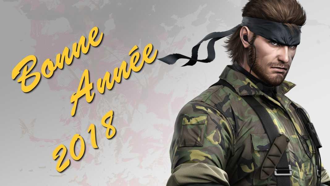 bonne année 2018 mgs metal gear solid