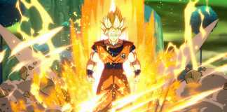 test de dragon ball fighterZ sur PS4