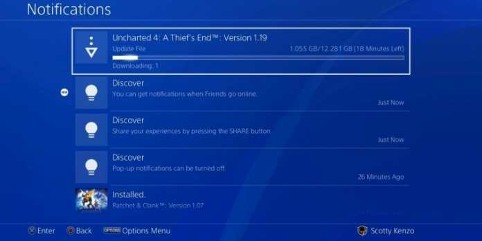 comment supprimer les notifications de la PS4