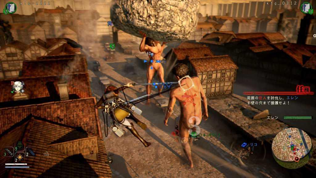 mes impressions sur A.O.T. 2 PS4