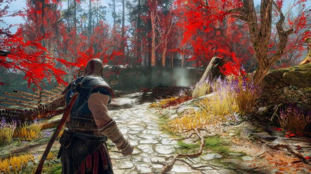 mes impressions sur god of war sur ps4 pro