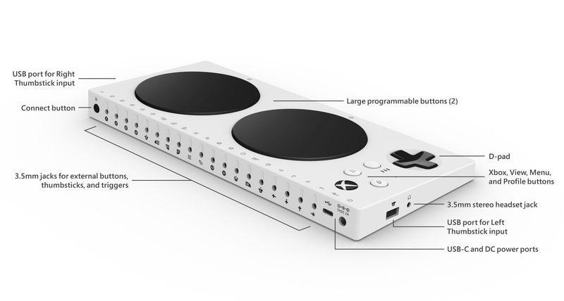 Manette Adaptative Xbox
