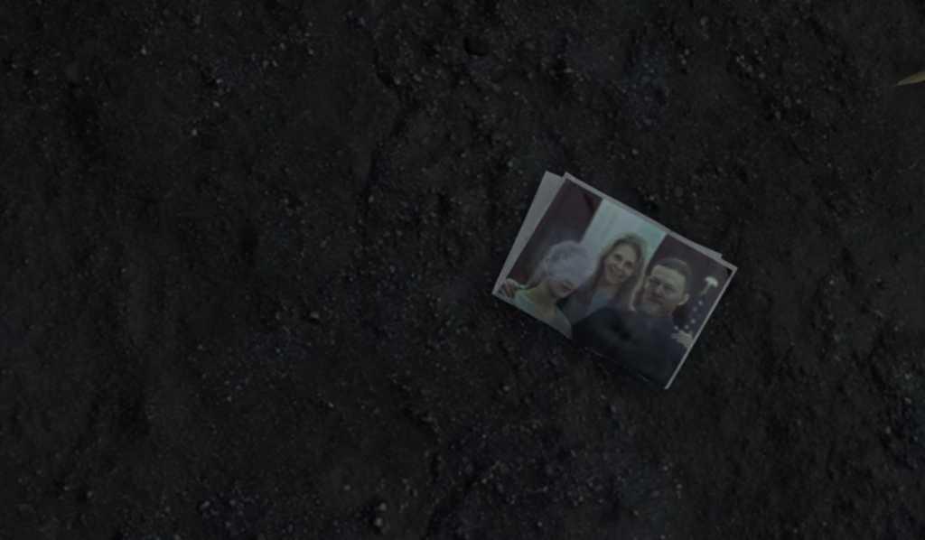 Photo de famille de Sam Porter dans Death Stranding