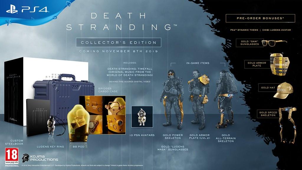 Édition collector de Death Stranding