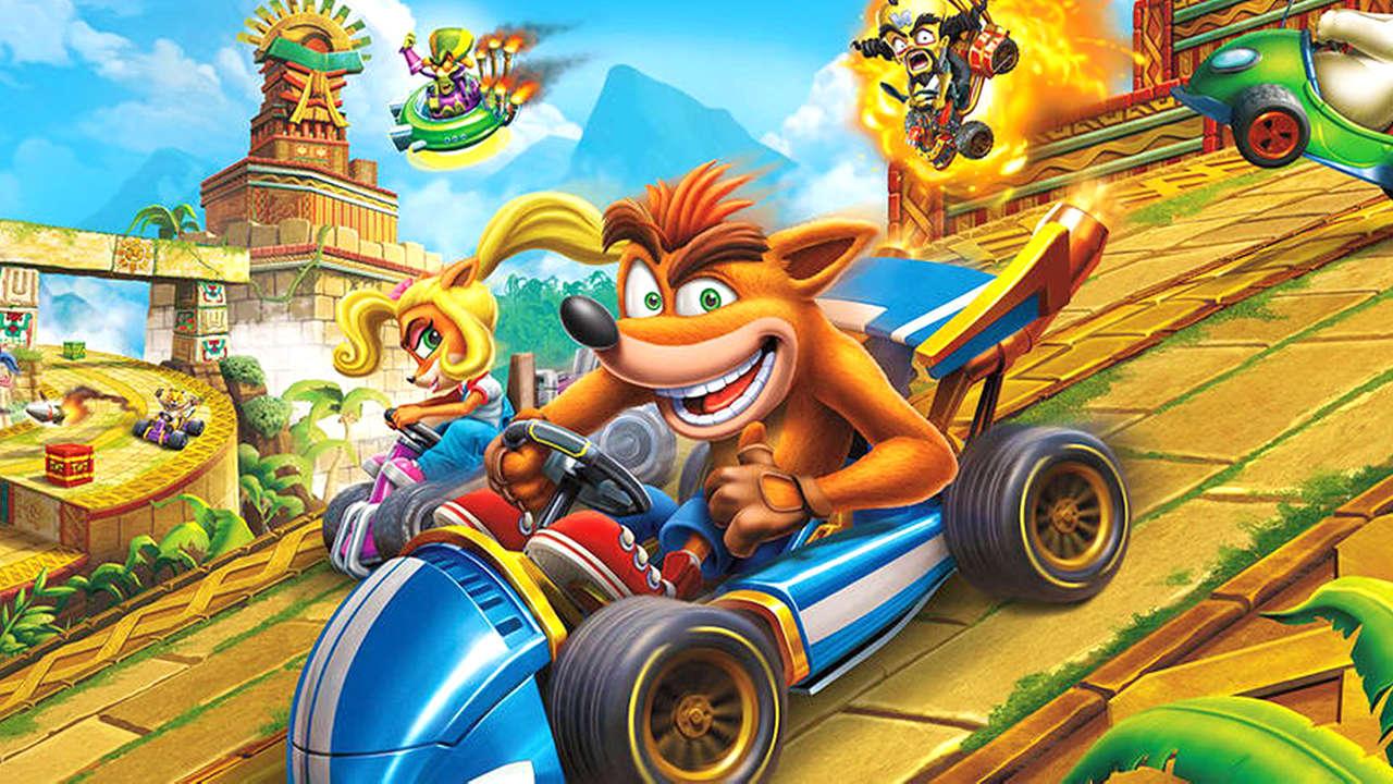 crash team racing déboule sur le Playstation store