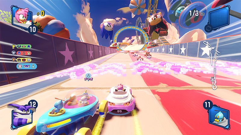 mes impressions sur team sonic racing