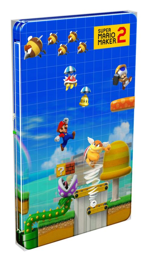 le steelbook de super mario maker 2