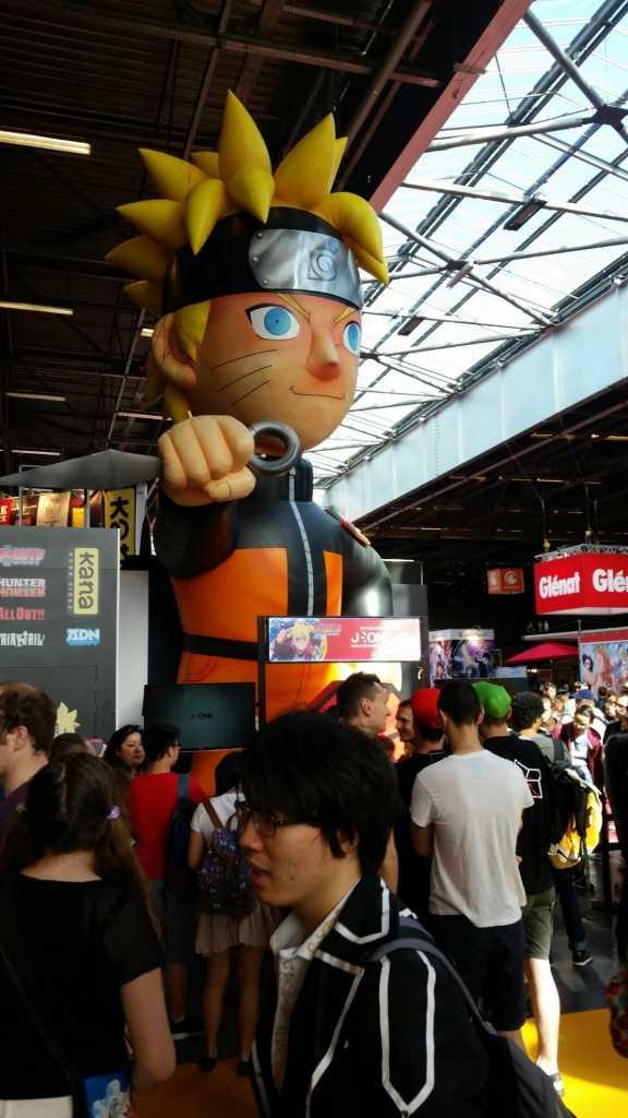 naruto, toujours la star à japan expo