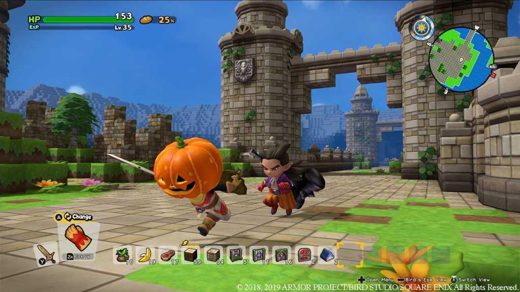 précommande de dragon quest builders 2 sur PS4 et Switch