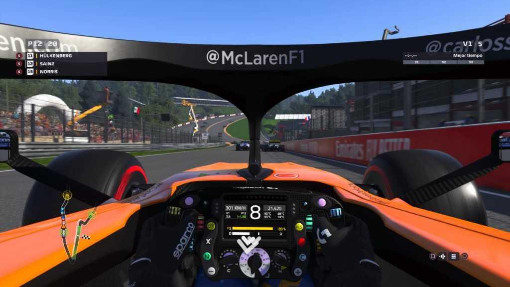 test de F1 2019 sur Xbox One X
