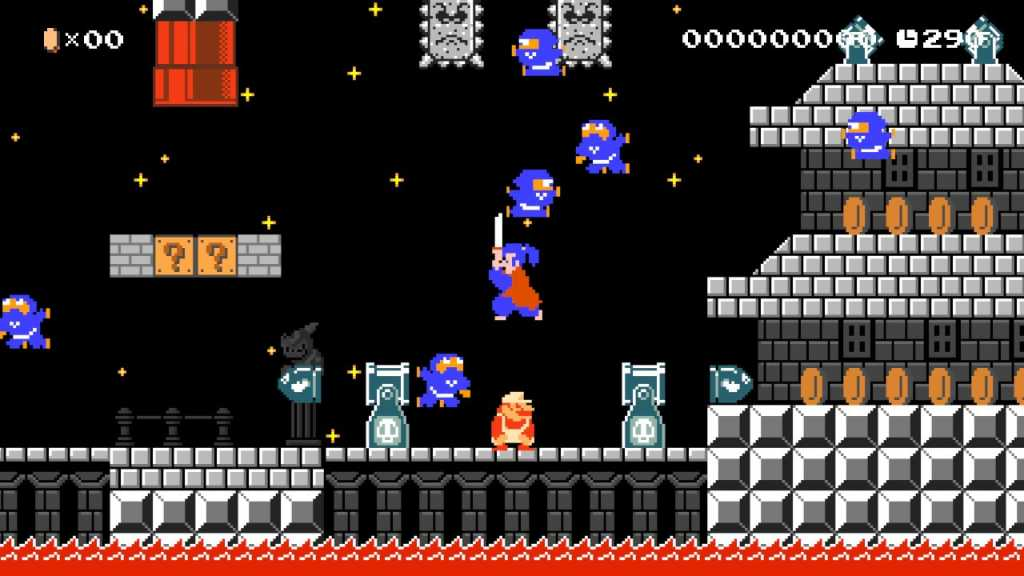 test de super mario maker 2