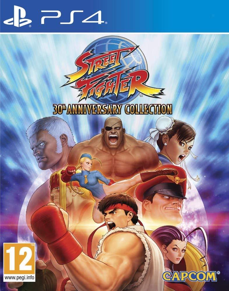 jaquette de street fighter 30th anniverssary sur PS4