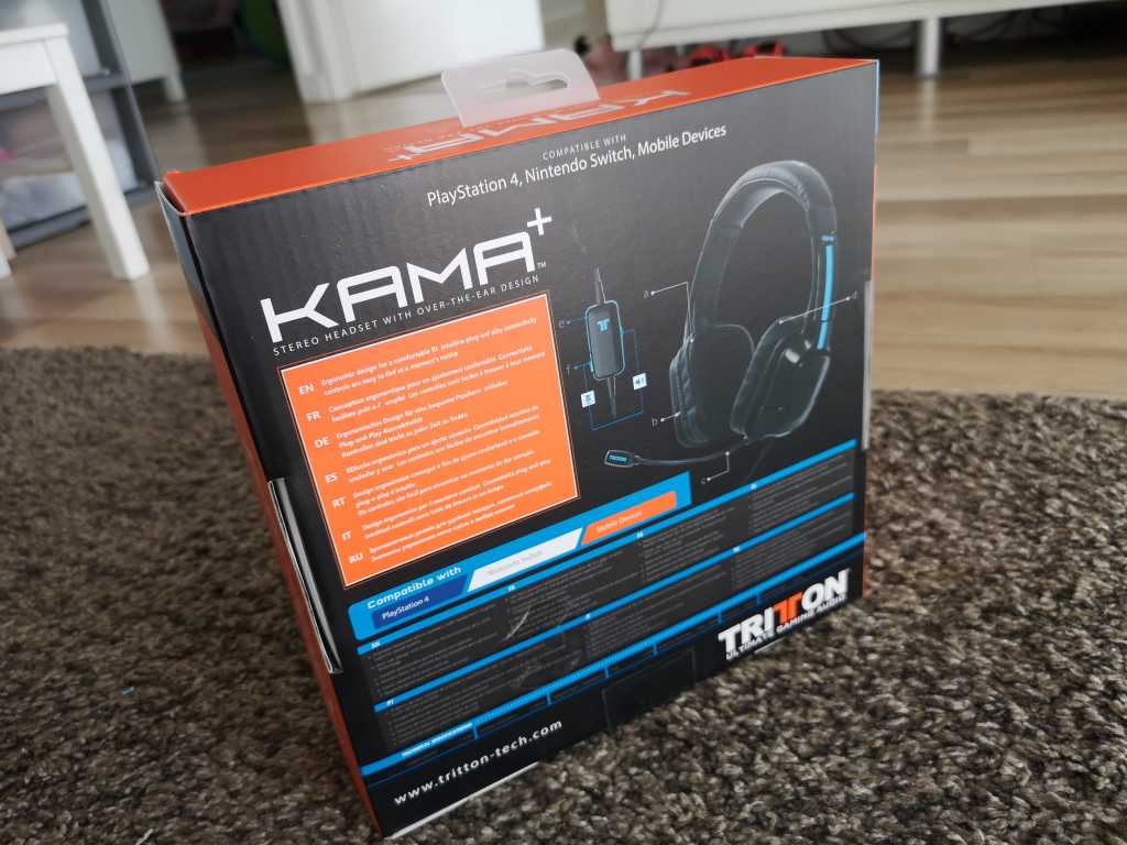 Test du casque gaming Tritton Kama +