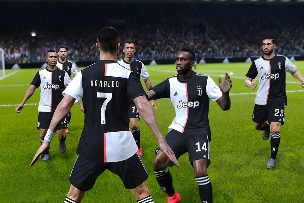 Test de eFootball PES 2020 sur Xbox one