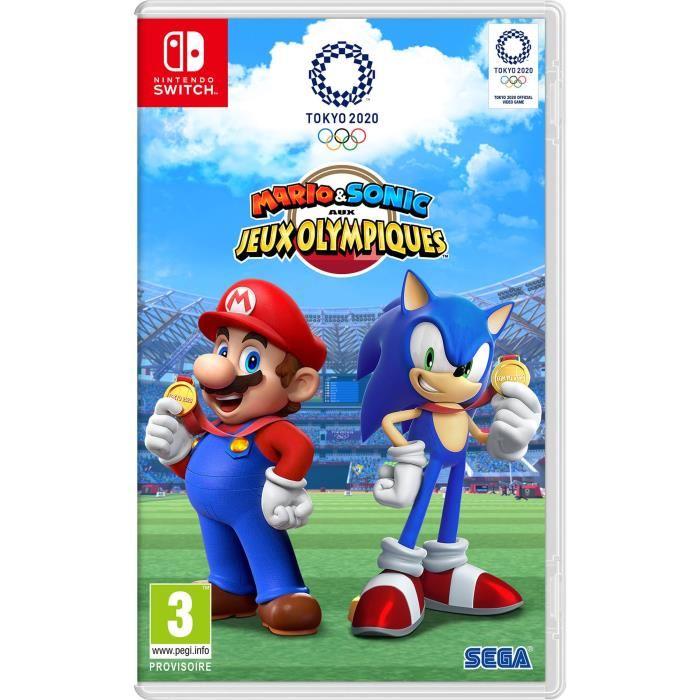 précommande de Mario & Sonic aux jeux olympiques de Tokyo 2020
