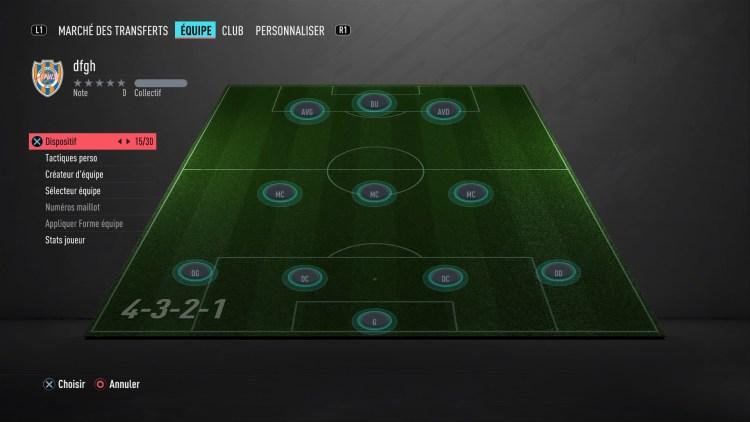 ne pas négliger la stratégie dans FIFA 20