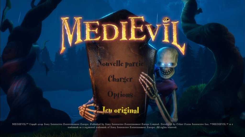 test medievil PS4