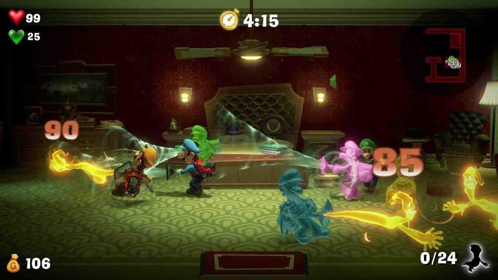 test de Luigi's Mansion 3 sur nintendo switch