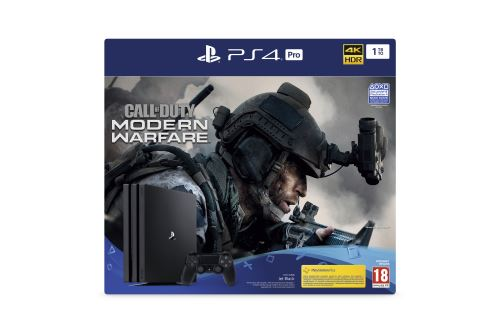 black friday PS4 Pro modern warfare