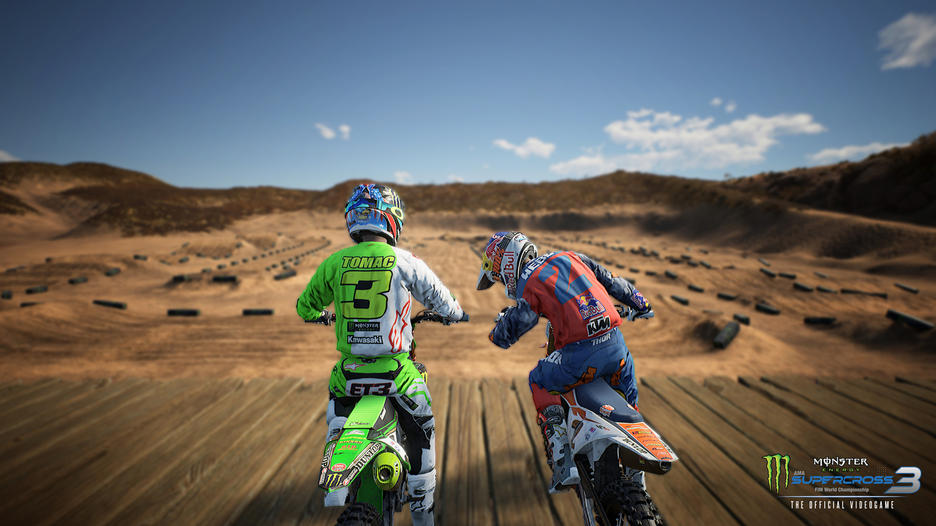 test de monster energy supercross 3 sur nintendo switch
