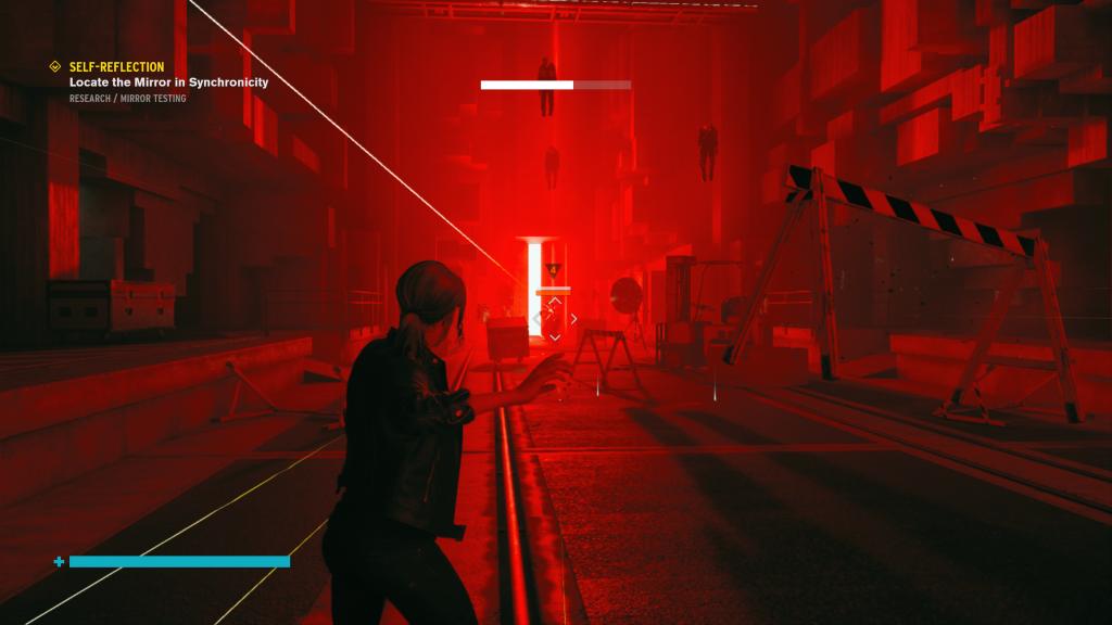 test de control sur Xbox One X