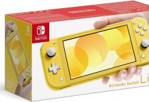 Nintendo Switch Litee Jaune