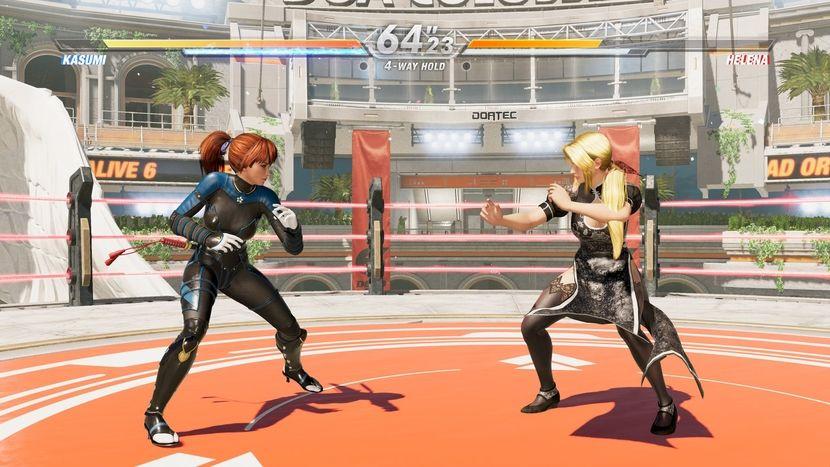 Dead or Alive 6 : Core Fighters est gratuit sur le playstation store