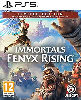jaquette Immortals Fenyx Rising