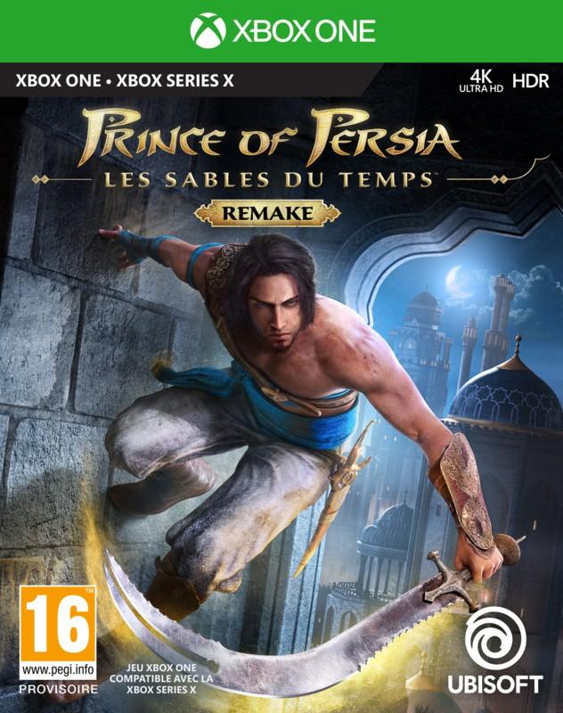 jaquette Prince of Persia : Les Sables du Temps Remake