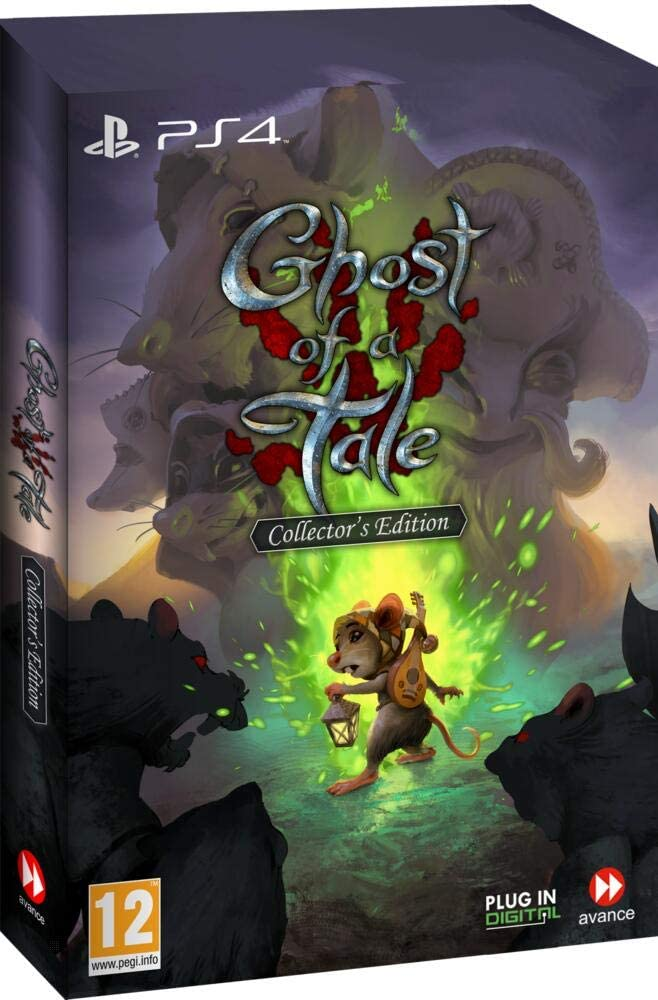 jaquette Ghost Of A Tale Edition Collector