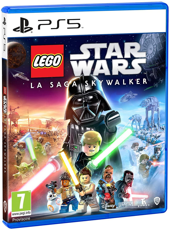jaquette Lego Star Wars La Saga Skywalker